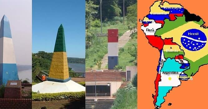 Geografía Pregunta Trivia: ¿Cuántas provincias argentinas limitan con Paraguay?