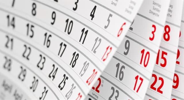 """Сiencia Pregunta Trivia: ¿Cuántos meses tiene el """"Calendario fijo internacional""""?"""