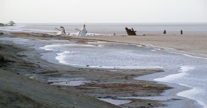 Geografía Pregunta Trivia: ¿Cuántos metros cuadrados tiene la superficie del lago Salado del Chott El Jerid?