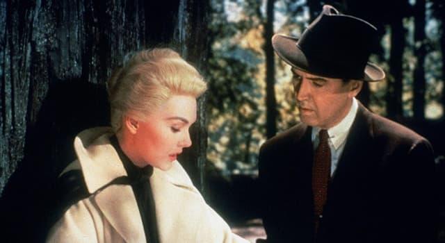 """Películas y TV Pregunta Trivia: ¿De qué sufre James Stewart en la película """"Vértigo"""" de Hitchcock?"""