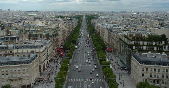 """Geografía Pregunta Trivia: ¿En qué capital europea hay una avenida llamada """"General Perón""""?"""