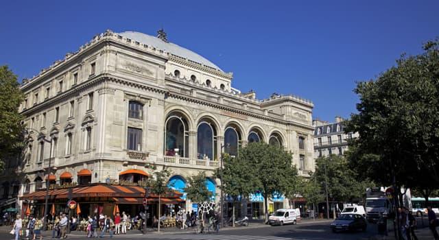 Cultura Pregunta Trivia: ¿En qué ciudad europea se encuentra el Teatro de Châtelet?