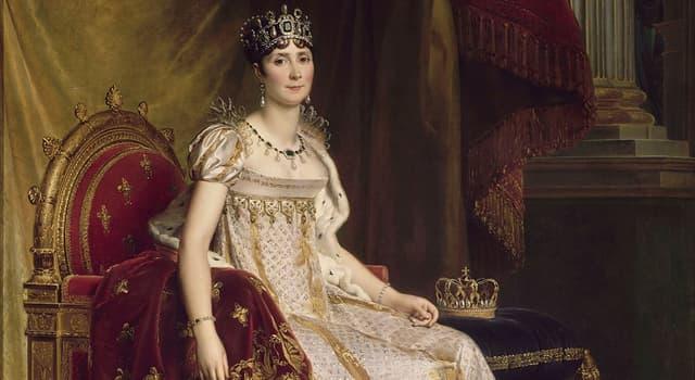 Historia Pregunta Trivia: ¿En qué isla nació la emperatriz Josefina esposa de Napoleón?