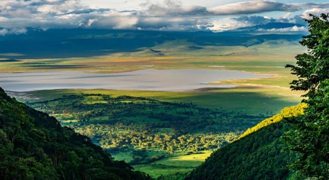 Geografía Pregunta Trivia: ¿En qué país de África se encuentra el área de Conservación del Ngorongoro?
