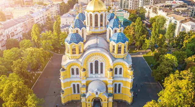 Geografía Pregunta Trivia: ¿En qué país está ubicada la Catedral de San Vladimiro?