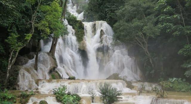 Geografía Pregunta Trivia: ¿En qué país están ubicadas las Cascadas Kuang Si?