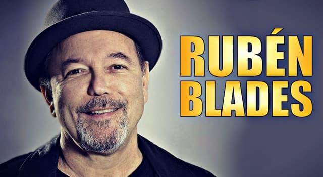 Cultura Pregunta Trivia: ¿En qué país nació el cantante y compositor Rubén Blades?