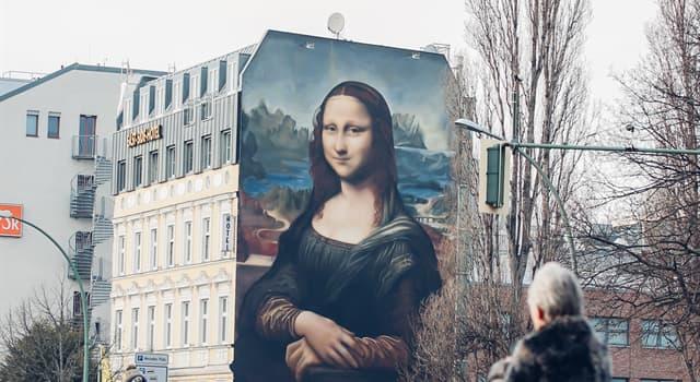 """Cultura Pregunta Trivia: ¿En qué país se pinto en un mural """"La Mona Lisa"""" más grande del mundo?"""