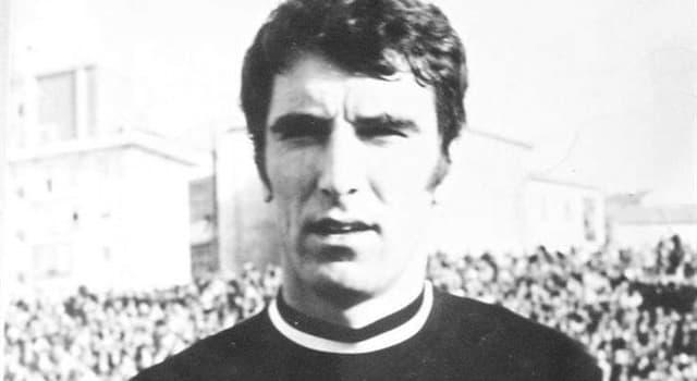 Deporte Pregunta Trivia: ¿En qué posición jugaba el ex futbolista Dino Zoff?