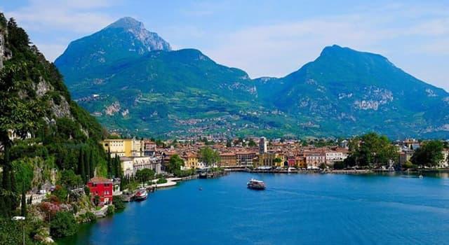 Geografía Pregunta Trivia: ¿En qué región de Italia se encuentra el Lago de Garda?