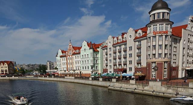 Geografía Pregunta Trivia: ¿En qué región de Rusia está ubicada la ciudad de Kaliningrado?