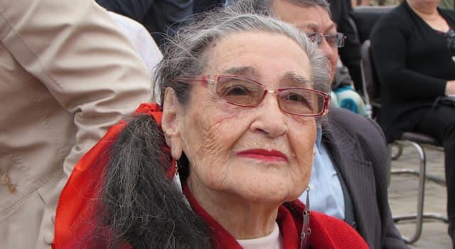 Cultura Pregunta Trivia: ¿En qué se destacó Margot Loyola?