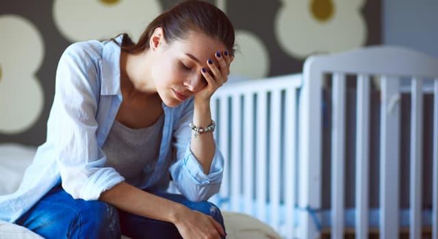 Sociedad Pregunta Trivia: ¿Cuándo se puede tener un episodio de depresión posparto?