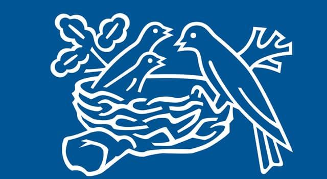 Sociedad Pregunta Trivia: ¿Qué empresa tiene un logo en el que aparece un nido con pájaros?
