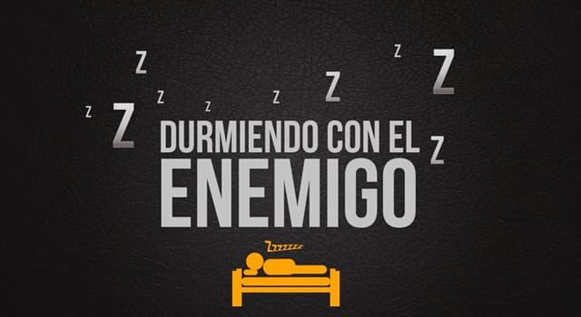 """Películas y TV Pregunta Trivia: ¿Cuál es el tema principal en la película """"Durmiendo con el enemigo"""" protagonizada por Julia Roberts?"""