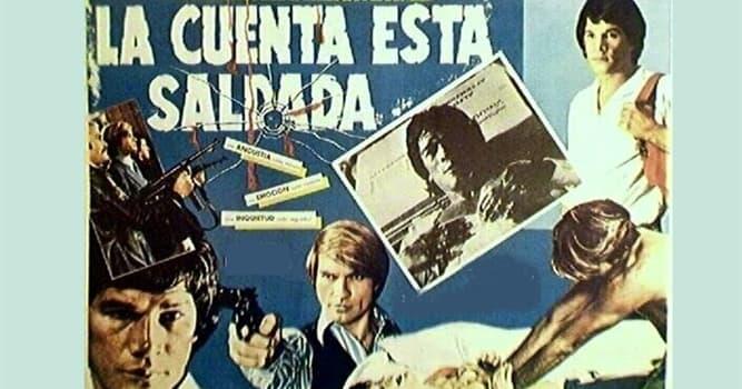 """Películas y TV Pregunta Trivia: ¿Qué boxeador argentino actuó en la película """"La cuenta está saldada""""?"""