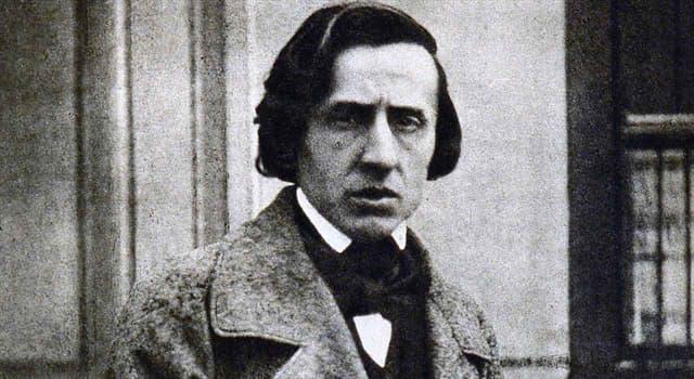 Cultura Pregunta Trivia: ¿Qué escritora fue el gran amor de Frédéric Chopin en sus últimos años?