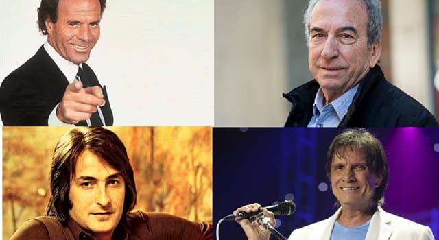 Cultura Pregunta Trivia: ¿Qué famoso cantante melódico español fue arquero en el fútbol profesional?