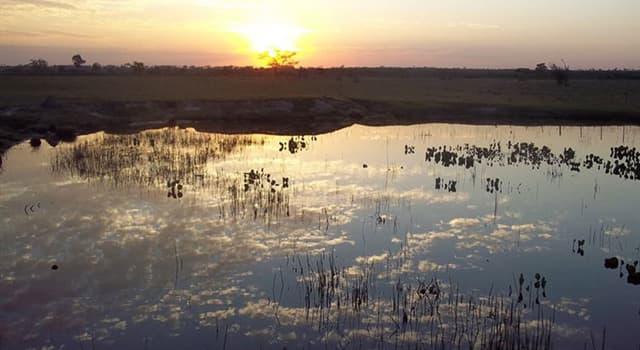 Naturaleza Pregunta Trivia: ¿Qué país cuenta con mayor extensión de humedales en el mundo?