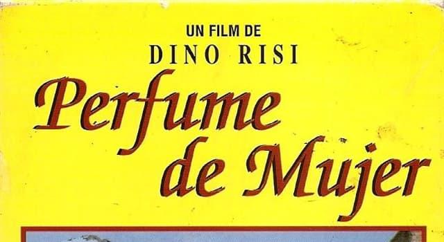 """Películas y TV Pregunta Trivia: ¿Qué problema físico tenía Vittorio Gassman en la película """"Perfume de mujer""""?"""