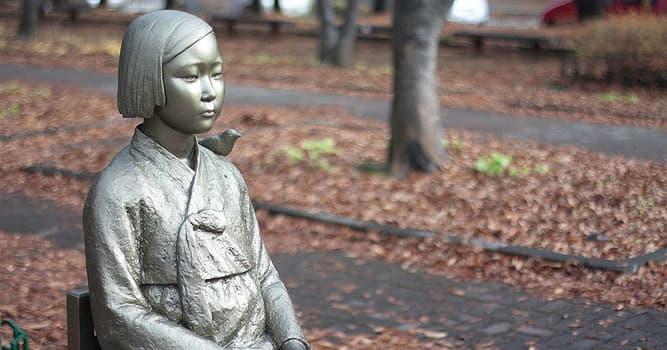 """Historia Pregunta Trivia: ¿Qué son las """"mujeres confort""""?"""