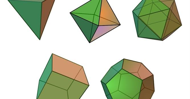 Сiencia Pregunta Trivia: ¿Qué son los sólidos platónicos?