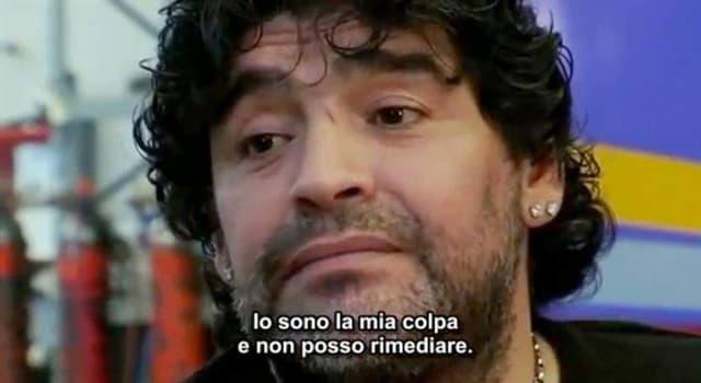 Películas y TV Pregunta Trivia: ¿Quién dirigió la película documental de Maradona (2008)?