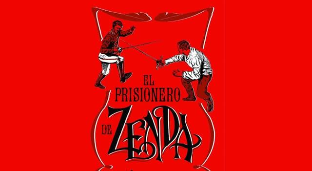 """Cultura Pregunta Trivia: ¿Quién es el autor de """"Prisionero de Zenda""""?"""