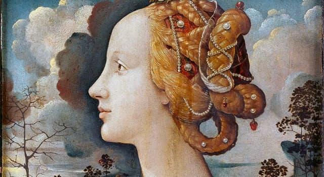 Cultura Pregunta Trivia: ¿Quién fue Simonetta Vespucci?
