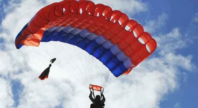 Cultura Pregunta Trivia: ¿Quién realizó el primer salto registrado en paracaídas?