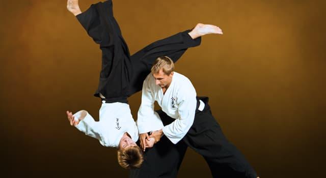 Deporte Pregunta Trivia: ¿Dónde se desarrolló el aikido?