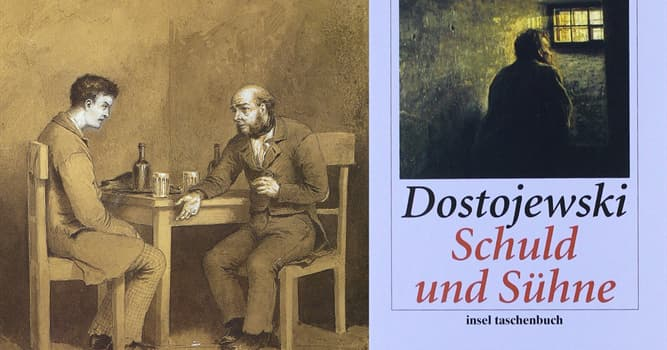 """Kultur Wissensfrage: Welches Verbrechen hat Raskolnikow im Roman von Dostojewski """"Schuld und Sühne"""" begangen?"""