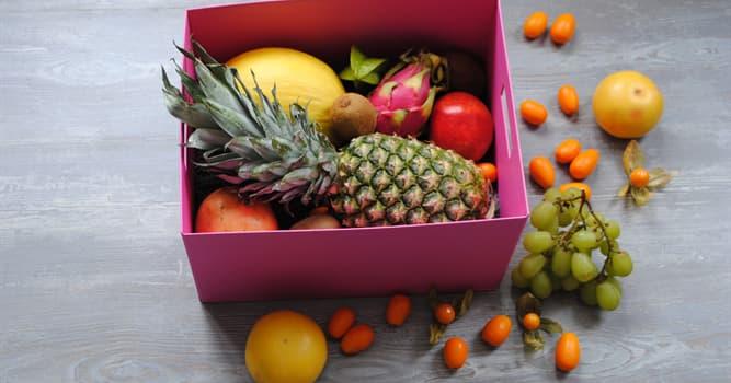 Cultura Pregunta Trivia: ¿Qué fruta tiene un delicioso sabor pero un olor muy desagradable?