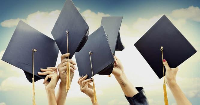 Сiencia Pregunta Trivia: ¿Cuál de los siguientes es un grado académico?