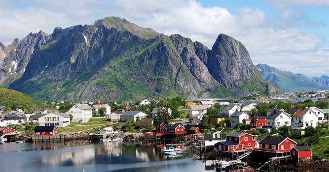 Geographie Wissensfrage: Wie heißt die Hauptstadt von Norwegen?