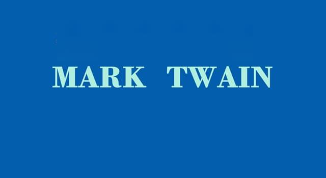 Cultura Pregunta Trivia: ¿Cuál es el verdadero nombre del escritor, orador y humorista Mark Twain?
