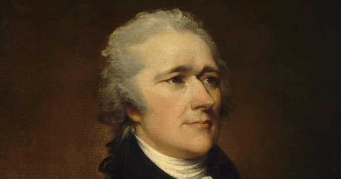 Historia Pregunta Trivia: ¿Cuál fue el principal aporte de Alexander Hamilton a los Estados Unidos de Norteamérica?
