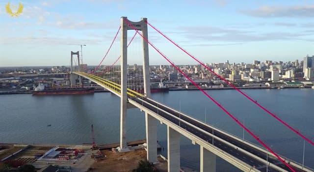 Geografía Pregunta Trivia: ¿Cuántos kilómetros de longitud tiene el puente Maputo en África?