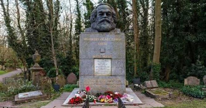 Historia Pregunta Trivia: ¿Dónde está enterrado Karl Marx?