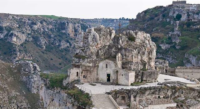 Geografía Pregunta Trivia: ¿Dónde se encuentra la ciudad de Matera?