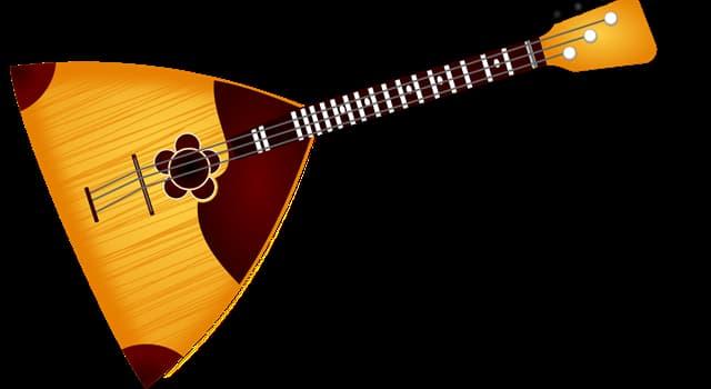 Cultura Pregunta Trivia: ¿En qué país es muy popular el instrumento llamado balalaica?