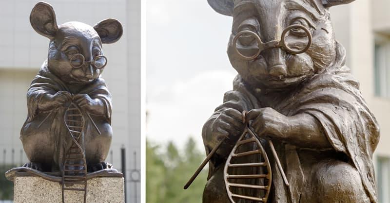 Sociedad Pregunta Trivia: ¿En qué país se erige un monumento dedicado a los ratones de laboratorio?
