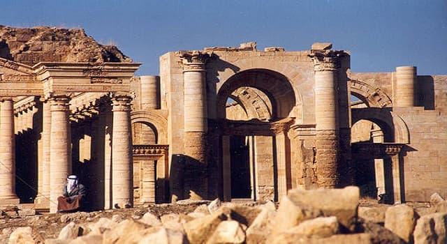 Geografía Pregunta Trivia: ¿En qué país se localizan las ruinas de la ciudad de Hatra?