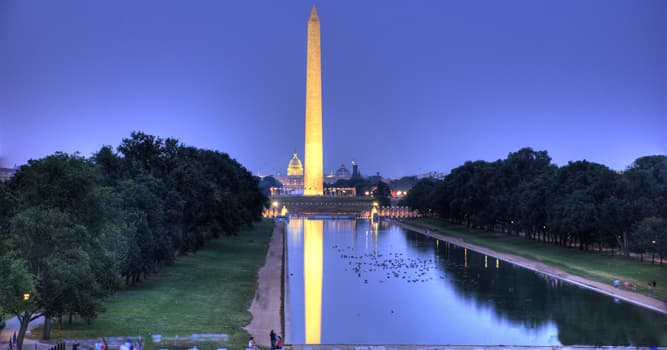 Historia Pregunta Trivia: ¿Qué altura tiene el obelisco del Monumento a George Washington?