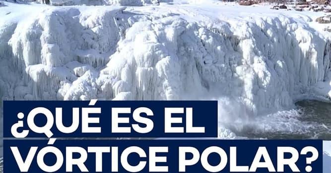 """Naturaleza Pregunta Trivia: ¿Qué es el """"Vórtice polar""""?"""