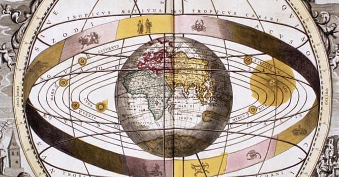 Cultura Pregunta Trivia: ¿Quién fue el creador de la teoría geocéntrica?