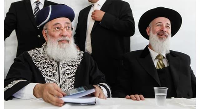 Sociedad Pregunta Trivia: ¿A qué grupo étnico pertenecen los sefardíes?