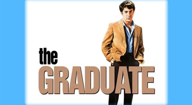"""Películas y TV Pregunta Trivia: ¿Cuál es el tema musical más popular de la película """"El graduado""""?"""