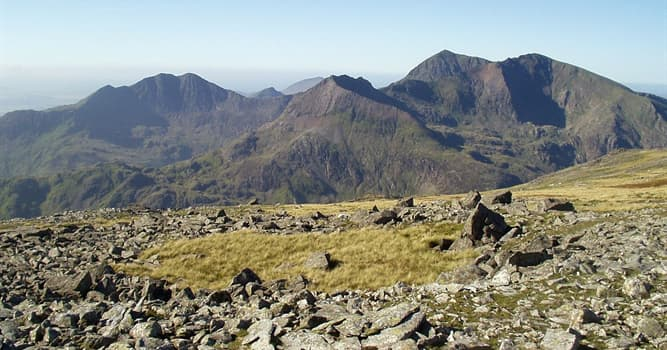 Geografía Pregunta Trivia: ¿Dónde se encuentra el monte Snowdon?