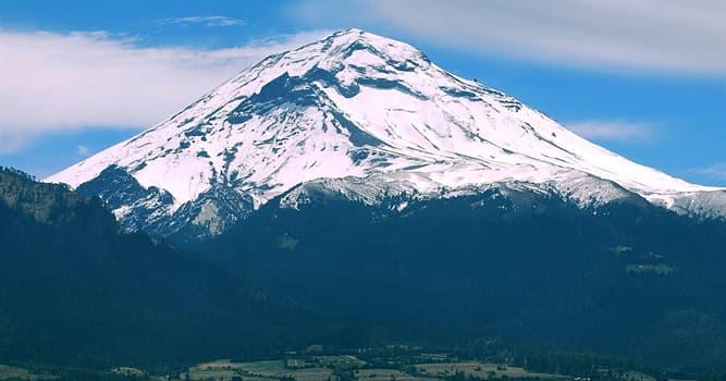 Geografía Pregunta Trivia: ¿Dónde está el volcán Popocatépetl?